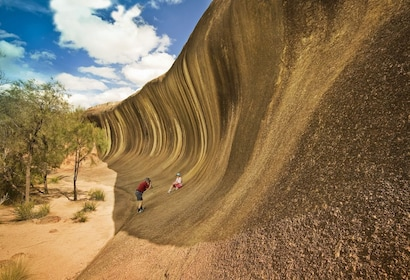 Wave Rock, Historic York, Corrigin Town & Hippo's Yawn Cave