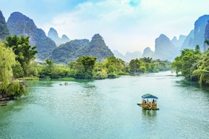 Guilin Li River Cruise, Reed Flute Cave Trip from Shanghai