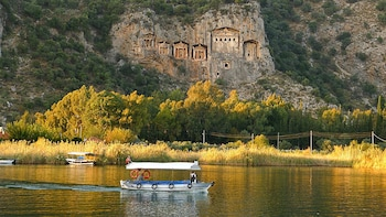 Explore Dalyan & King Tombs & Turtle Beach & Mud Bath