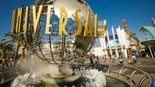 Fountain at Universal Studios Hollywood