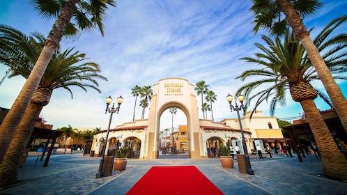 Red carpet at Universal Studios Hollywood