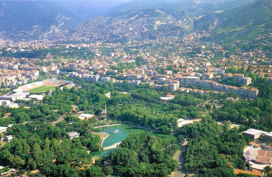 Aerial view of Bursa