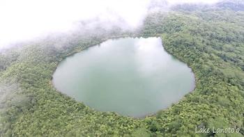 Volcanic Crater Lake - Hike and Swim