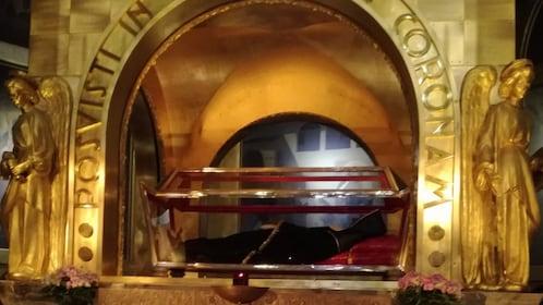 St. Rita's remains on display at Basilica of Santa Rita