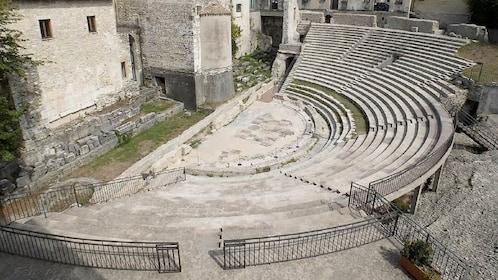 Teatro Romano in Spoleto, Italy