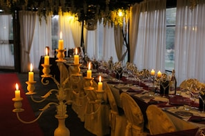 Romantic Candlelight Dinner and Wine in Tuscany
