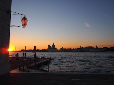 Gorgeous sunset in Venice