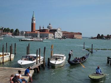 Peaceful canal in Venice
