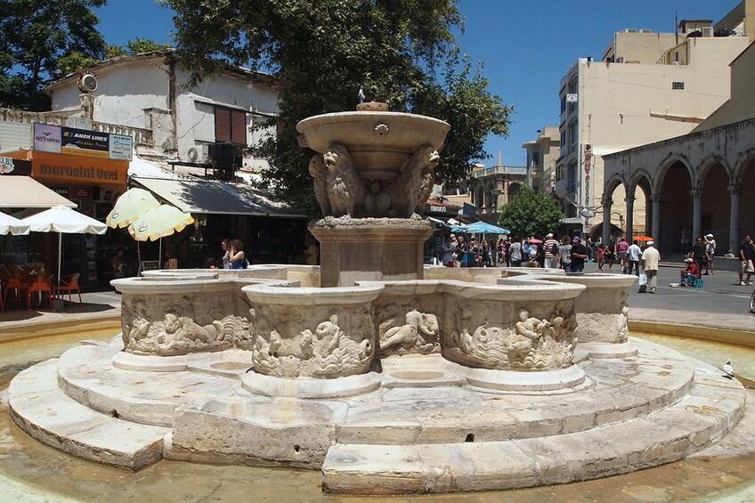 Show item 5 of 5. Morozini Fountain Heraklion