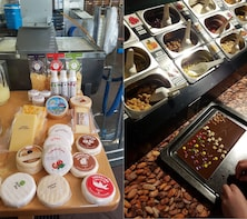 Artisan Cheesemaking and Chocolate factory - from Basel