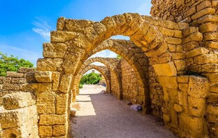 Caesarea, Haifa, Acre and Rosh Hanikra Tour from Jerusalem
