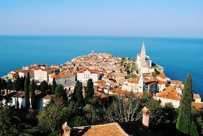 Walking tour of Piran with a local guide