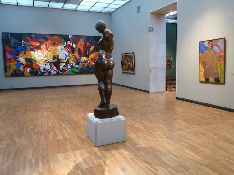 Show item 5 of 7. Park of Arts Muzeon and New Tretyakov Gallery private tour
