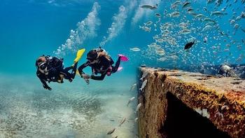 USS Liberty Shipwreck Scuba Dives in Tulamben Bali