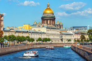 Visa-Free Private St. Petersburg Discovery Tour (4 hours)