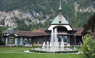 Interlaken City plus Harder Mountain private tour from Bern