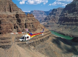 Grand Canyon South Rim with Helicopter