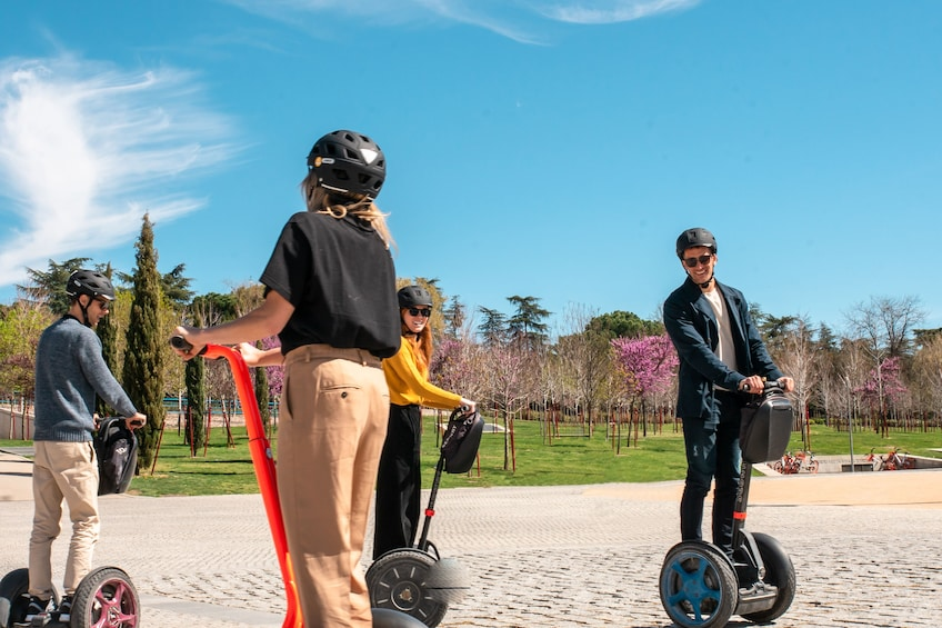 Show item 4 of 11. Madrid Segway TOP Highlights & Retiro Park Tour