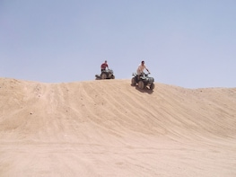 6 Hours Sunset Quad Bike – Camel Ride Trip from Hurghada