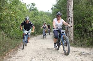 Punta Cana E-Bike T, Zipline Splash and Dominican Food Combo