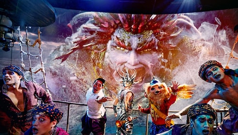Kaan Show, a live action & cinematic experience in Pattaya City