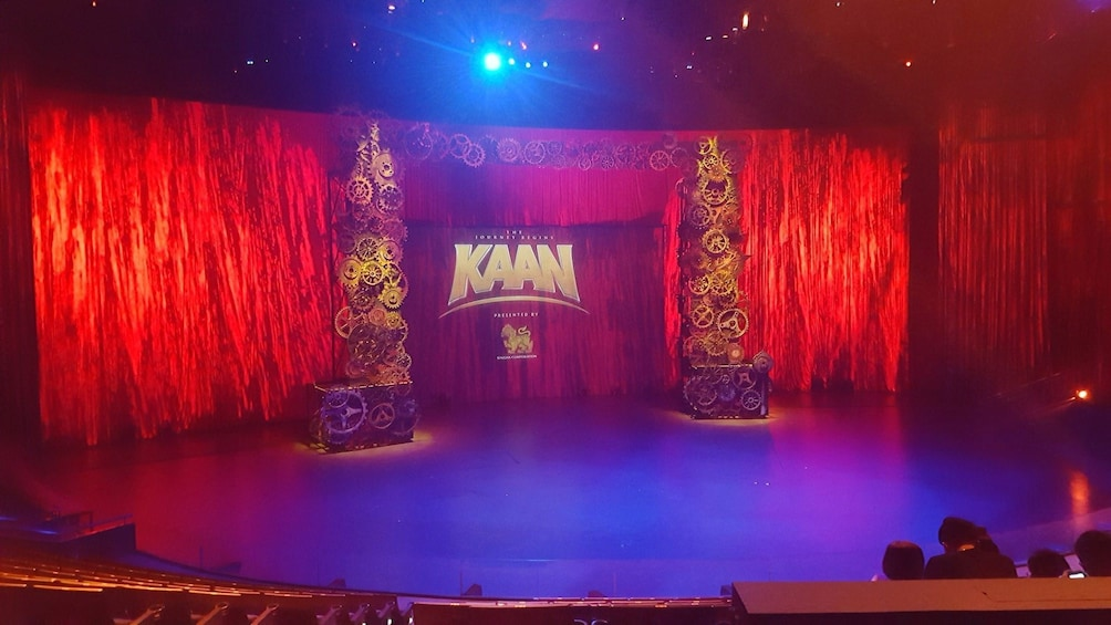 Show item 4 of 9. Kaan Show, a live action & cinematic experience in Pattaya City at the Singha D'luck Cinematic Theatre
