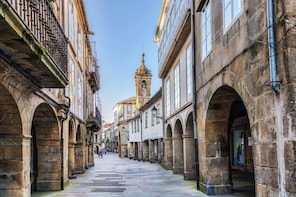Private Santiago de Compostela and Valença Full-Day Tour