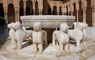 Alhambra: Nasrid Palaces and Generalife with audioguide
