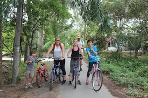 Private Non - Touristy Mekong Delta with Biking
