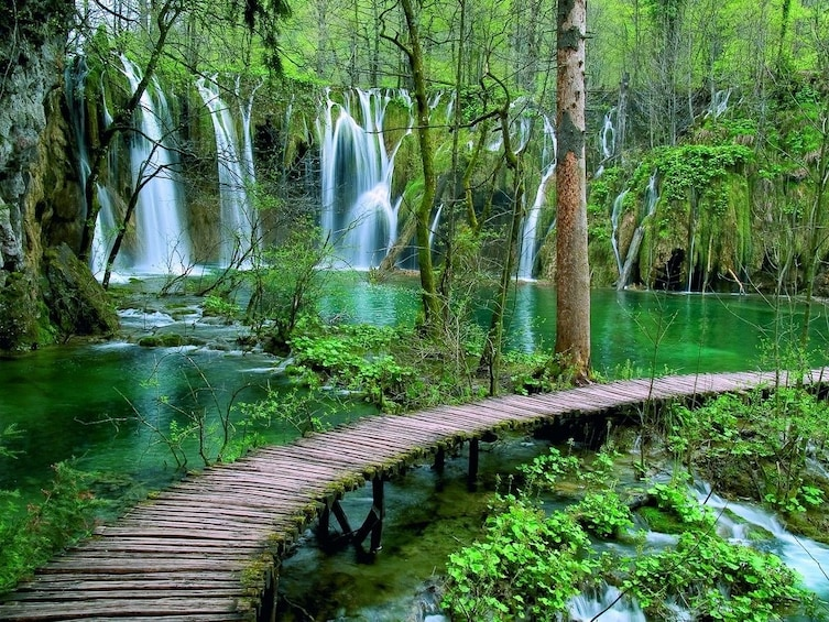 Show item 3 of 5. Private Excursion to National Park Plitvice Lakes