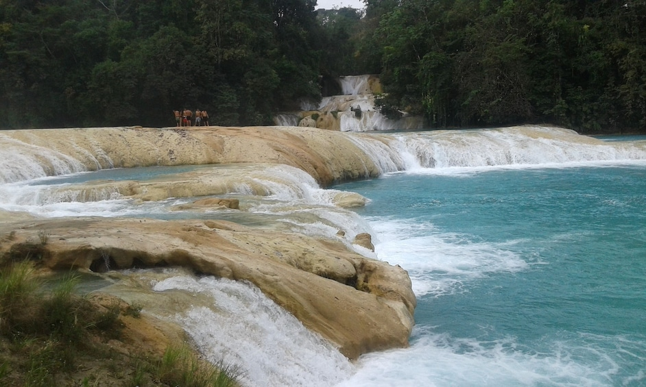 Show item 1 of 4. Agua Azul Waterfalls in Chiapas, Mexico