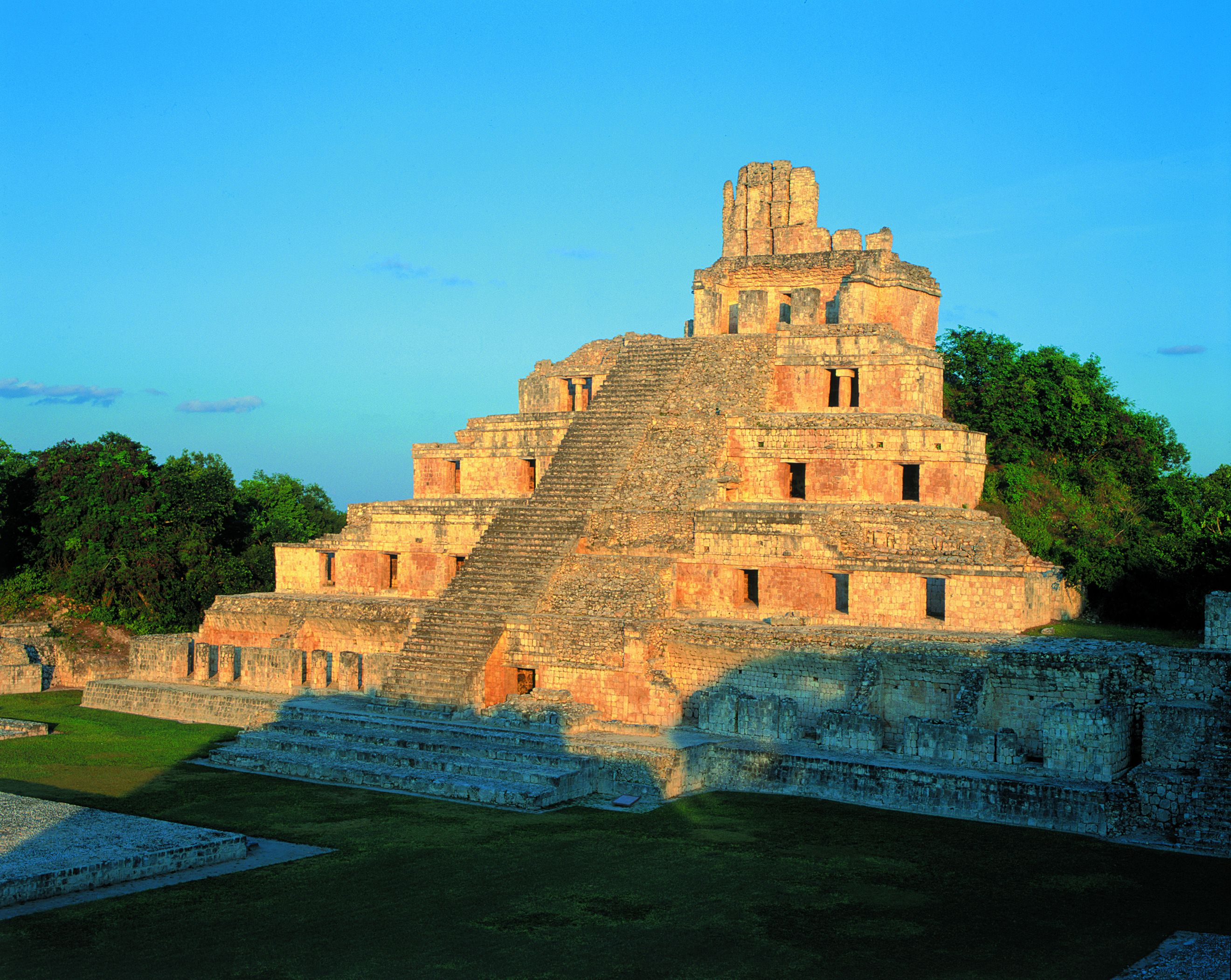 See Edzna, Kabah, & Uxmal from Campeche