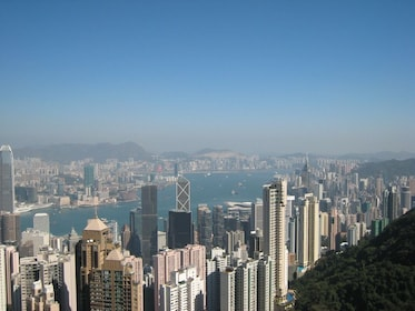 View from Sky Terrace in Hong Kong