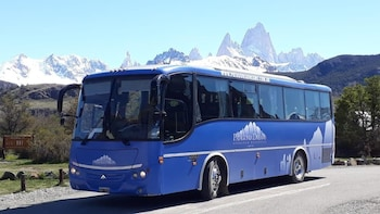 Bus between Calafate and Chalten