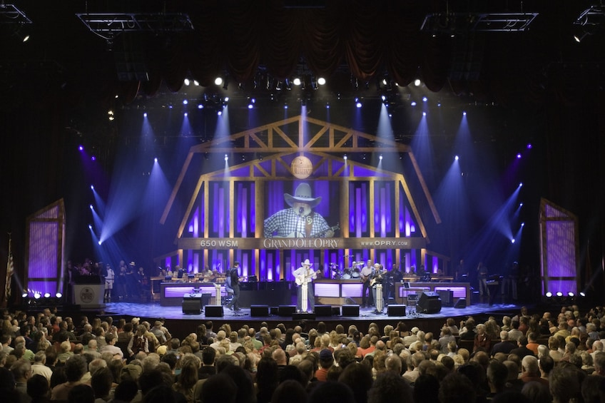 Show item 1 of 7. Performance at the Grand Ole Opry in Nashville