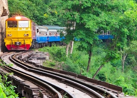 Private tour to Bridge over the River Kwai and Hellfire Pass