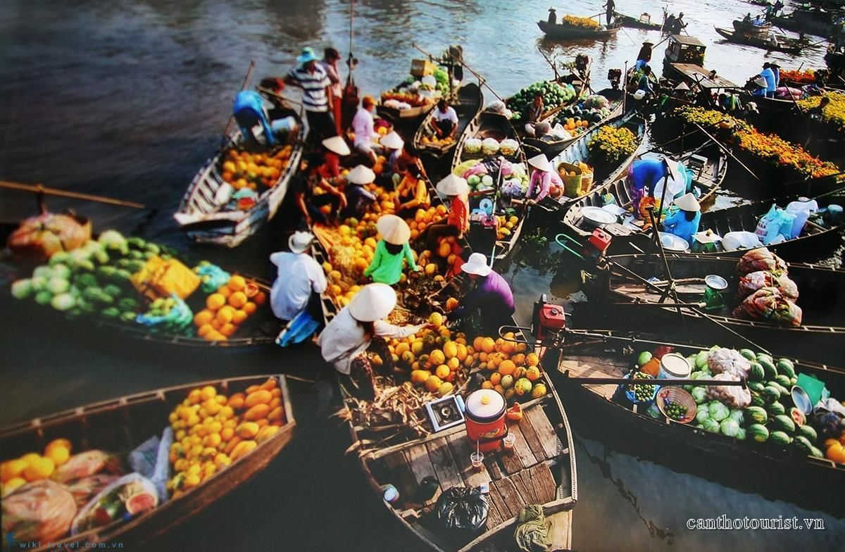 Private Cai Rang Floating Market in Can Tho