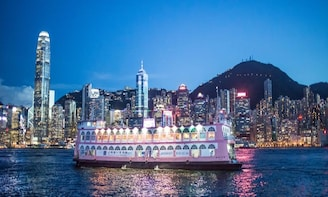 Victoria Harbour Dinner Cruise and A Symphony of Lights Show