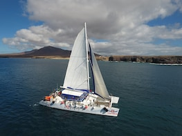 Luxury Catamaran Cruise to the Papagayo Beaches