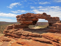 Kalbarri Outback Gorges Air & Ground Tour from Perth