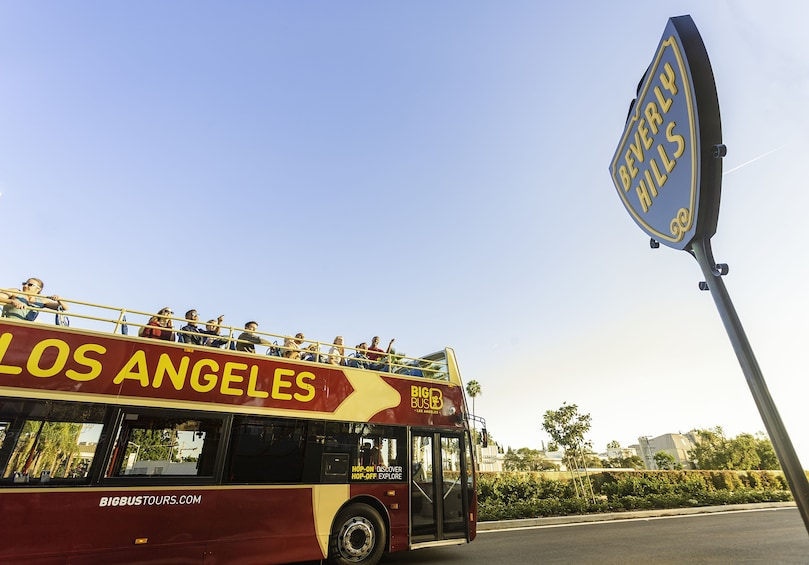 Show item 1 of 10. Los Angeles Hop-On Hop-Off Bus Tour