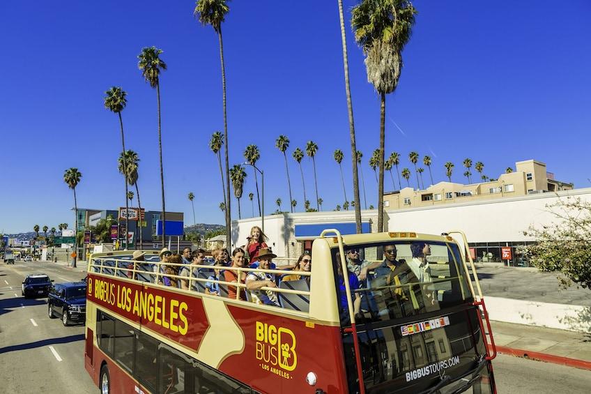 Show item 3 of 10. Los Angeles Hop-On Hop-Off Bus Tour