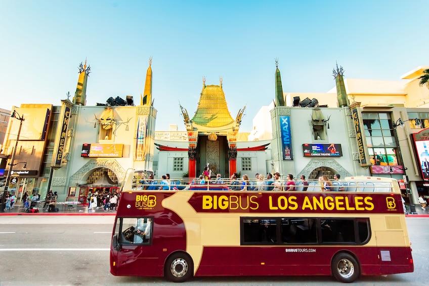 Show item 5 of 10. Los Angeles Hop-On Hop-Off Bus Tour