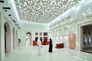 Museum tour in Qatar