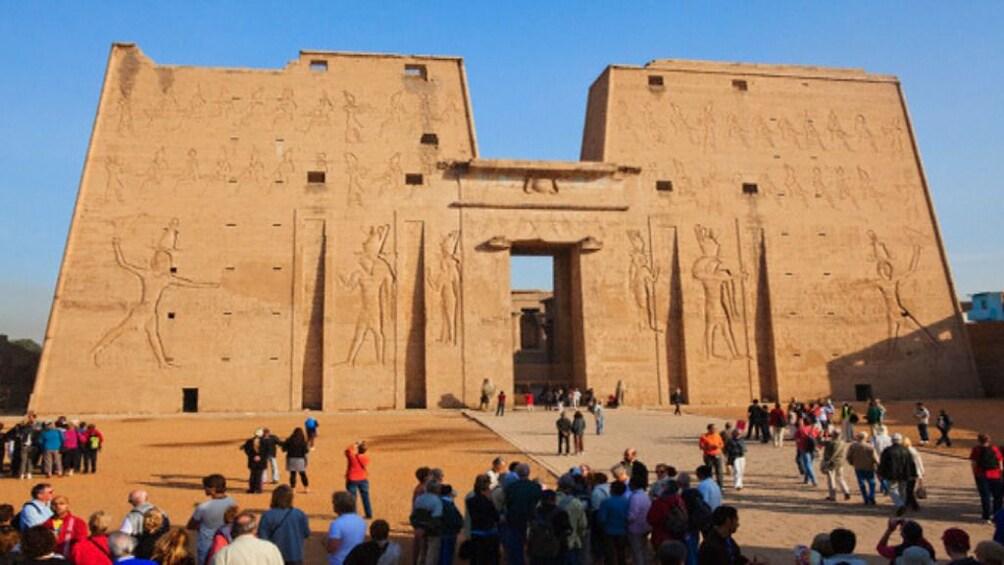 Show item 2 of 7. The Temple of Horus at Edfu in Edfu, Egypt