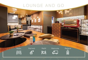 tourist lounge at the center of bangkok