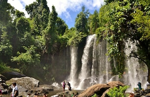 Visit The Mona Lisa of the East and Phnom Kulen Full-day