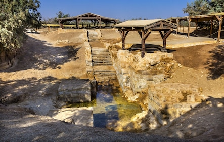 Bethany Baptism Jordan River Site Visit from Amman