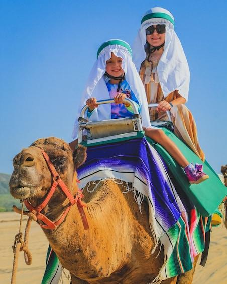 Show item 4 of 10. Camel Ride Adventure in Los Cabos