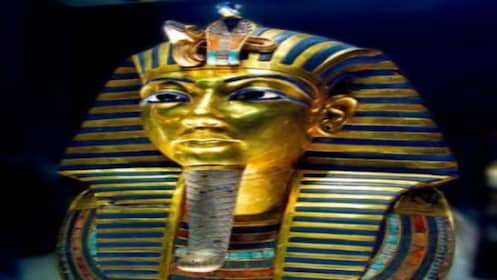 Head of tomb of King Tut